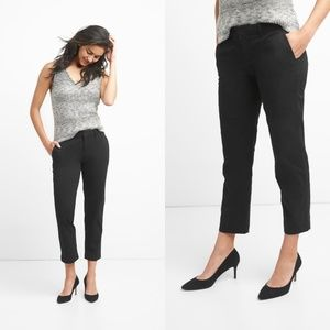 GAP Black Slim Crop Pant